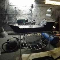 Мангал Кораблик Дизайнерская задумка, в Самаре