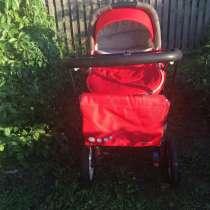Продаю детскую коляску геоби в хорошем состоянии, 2 в одном, в Кургане