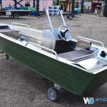 Купить лодку (катер) Wyatboat-390 У с консолью, в Москве