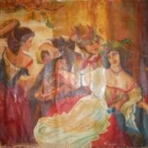 Картина «Октябрьский праздник в Риме», в Иванове