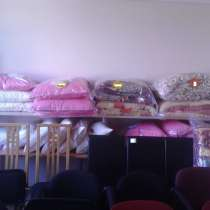 Подушки разного размера 50% пух, 50% перо. Белые и розовые, в г.Кохтла-Ярве