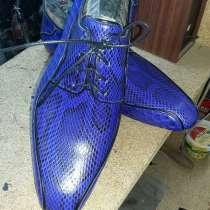 Изготовление эксклюзивной обуви на заказ, в г.Алматы