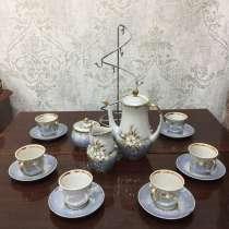 Чайное-кофейный набор на 6 персон + вазы, в Улан-Удэ
