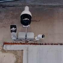 Установка видеонаблюдения, охранно-пожарной сигнализации, в Хабаровске