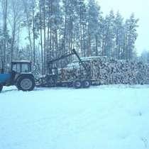 Транспортировка леса лесовозом с гидроманипулятором, в г.Минск