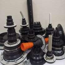 Муфты (гермовводы) проходные для ввода труб и кабеля Ф16-250, в Пензе