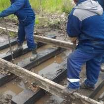 Ремонт железнодорожных подъездных путей, жд тупиков средний, в Красноярске