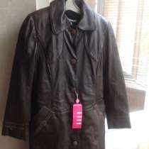 Продается кожаный итальянский плащ, в г.Киев
