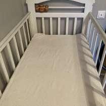 Детская кроватка с матрасом, в Москве