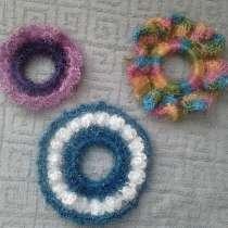 Цветы-резинки для волос ручной работы, в Перми