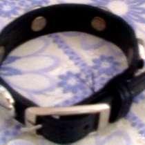 Продам оригинальный рок-браслет из нат. кожи, в Бердске