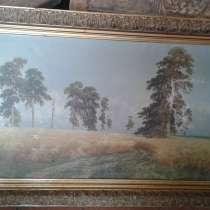 Старинная картина, холст, масло, в Улан-Удэ