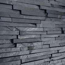 Сланец графитовый, черный. Натуральный камень. Распродажа, в Москве