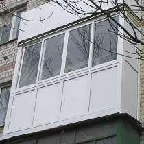 Балкон Rehau, в Нижнем Новгороде