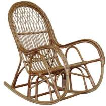 Кресло-качалка КК 4/3 с накидкой на сиденье, в г.Брест