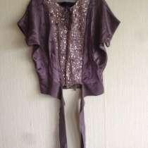 Шелковая блуза Esther Franklin с пайетками - М, в Голицыне