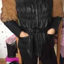 Зимняя кожаная куртка, в г.Орша