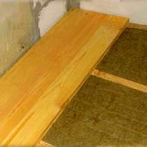 Ремонт пола на даче, в Ногинске