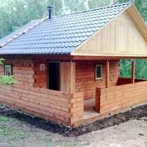 Строительство дома, бани, дачи от фундамента под ключ. Брус, в Красноярске