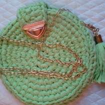 Круглая сумочка ручной работы, в г.Одесса