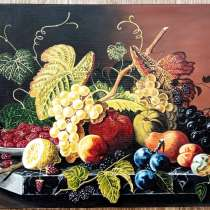 "Картина ""Натюрморт с фруктами"" (холст. масло, 30х40 см), в г.Киев"