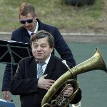 Эстрадно - духовой оркестр, в Нижнем Новгороде