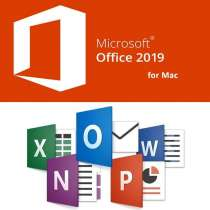 Microsoft Office home and business 2019 for Mac OS, в Москве