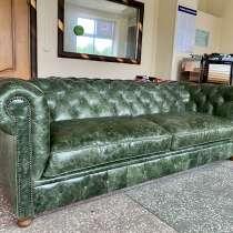 Кожаный диван Westminster, в Москве