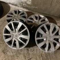 Оригинальные диски с колпаками Рено Логан 2 Renault, в Абакане