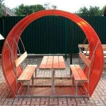 Новые садовые беседки со столиком и лавкой, в Унече