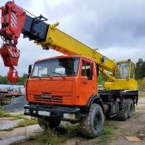 Продам автокран Ивановец, КАМАЗ-43118(6х6),2008г/в, в Тобольске
