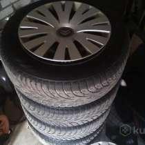 Комплект колёс диски резина зима раз.215.60.16.на 5 болтов, в г.Минск