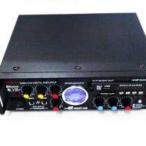 Усилитель звука Kiseki AV-339B + USB + КАРАОКЕ 2микрофона, в г.Киев