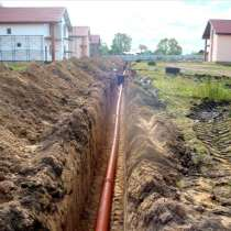 Прокладка водопровода и канализации, в Омске