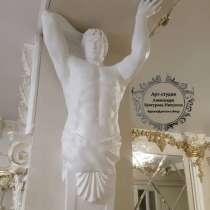 Роспись стен, барельеф, скульптура, в Новокузнецке