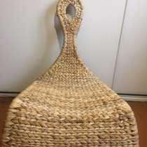 Плетёное кресло-качалка, в Калининграде