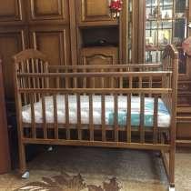 Кроватка детская и матрас ортопедический, в г.Витебск