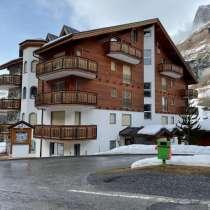 Элитная 2-х комнатная квартира с балконом и камином, в г.Leukerbad