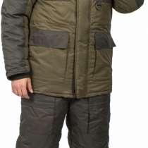 Костюм мужской зимний Фишмен (тк. Taslan) Вожак, зеленый, в Омске