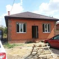 Новый кирпичный дом 80 кв. м. на 5 сотках земли, в Ростове-на-Дону