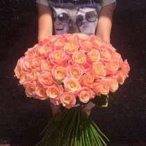 Всегда свежие розы 24 часа в сутки доставка в Тольятти от50, в Тольятти