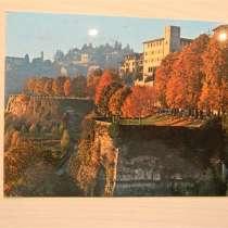 Открытка. Бергамо, Италия, 1978-79гг, прошедшие почту,2 вида, в г.Ереван