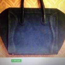 Новая замшевая сумка, в Одинцово