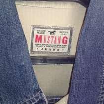 Мужская рубашка, джинсовая ткань, мягкая. Германия. р-р46-48, в Уфе