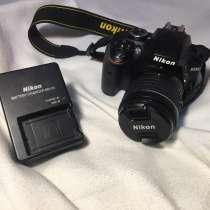Фотоаппарат Nikon D3300 + сумка и зарядка + SD 8Gb, в Санкт-Петербурге