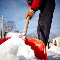Уборка снега, в Новоуральске
