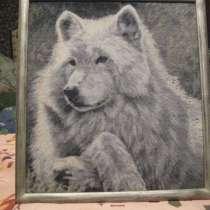 Вышивка Волк, в Новосибирске