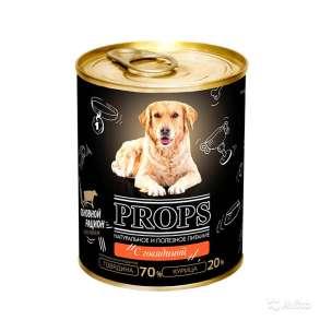 Консервы (корм) для собак «Props» 338 грамм, в Санкт-Петербурге
