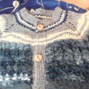 Куртка кофта свитер мальчику вязаный, в г.Донецк