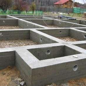 Фундаменты, отмостка, бетонные работы, дренаж, в Сергиевом Посаде